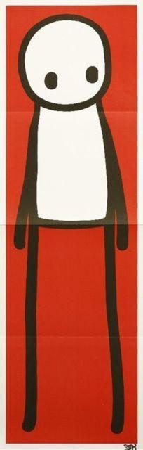 Stik, 'Red Man', 2015, Stowe Gallery