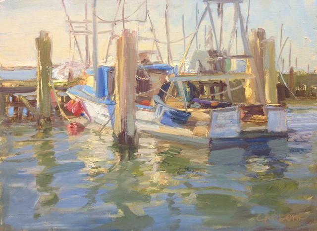 , 'Town Dock, Hampton Bays,' 2017, Grenning Gallery