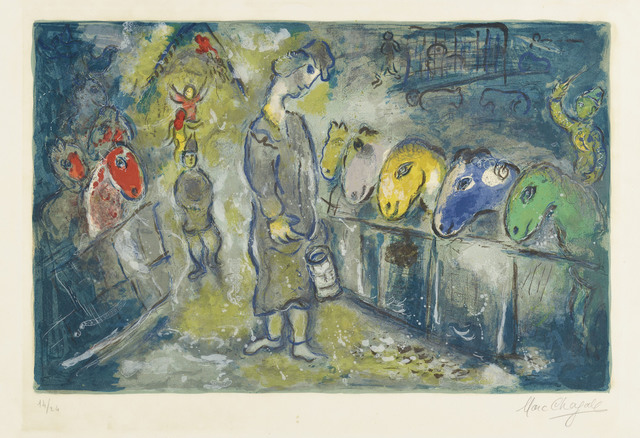 Marc Chagall, 'Le Cirque: one plate', 1967, Christie's