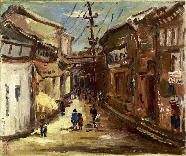 , 'Lu Kang's Old Street,' 1933, Liang Gallery