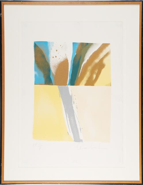 John Chamberlain, 'Flashback #7', 1981, Print, Lithograph in colors, Rago/Wright