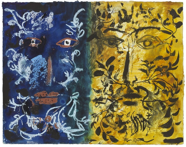 John Piper, 'Foliate Heads', ca. 1970, Portland Gallery