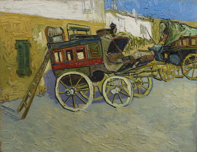 , 'Tarascon Stagecoach,' 1888, Princeton University Art Museum