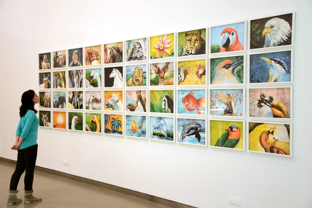 , 'Taxonomy of the Wild,' 2013, Mor Charpentier