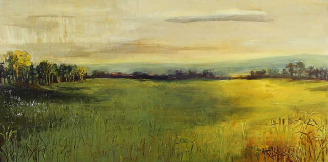 , 'August 9th, 2011, 9:15 am, Looking South, Fitch Road,' 2012, Studio 21 Fine Art
