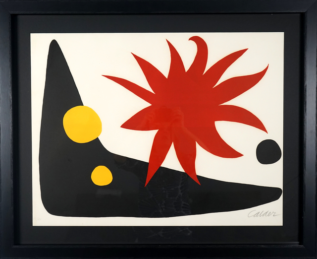 , 'The Red Sun (Le soleil rouge) ,' 1965, Pascal Fine Art