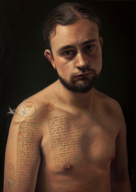 , 'A Man,' , Sirona Fine Art