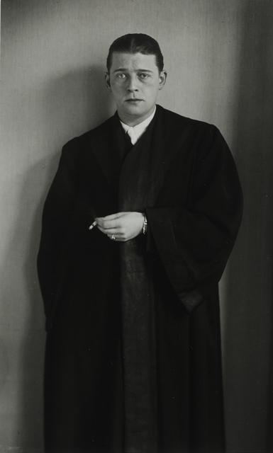 August Sander, 'Attorney, 1931', Galerie Julian Sander