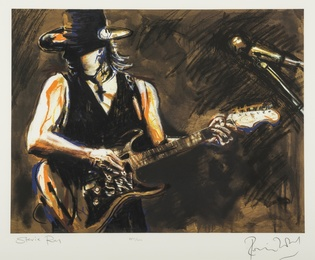 Ronnie Wood, 'Stevie Ray,' , Forum Auctions: Editions and Works on Paper (March 2017)