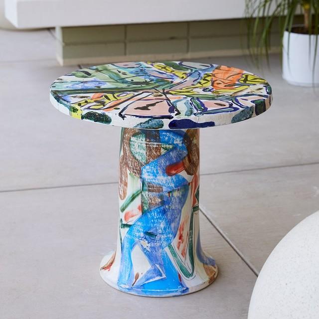 Reinaldo Sanguino, 'Round Ceramic Table', 2017, The Future Perfect