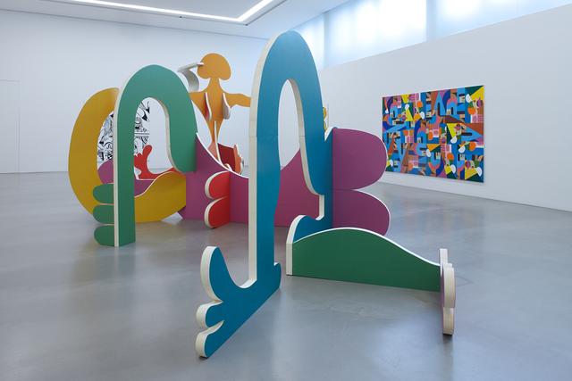 Christoph Ruckhäberle, 'untitled (horizontal)', 2019, Sculpture, Wood, linoleum, Galerie Kleindienst