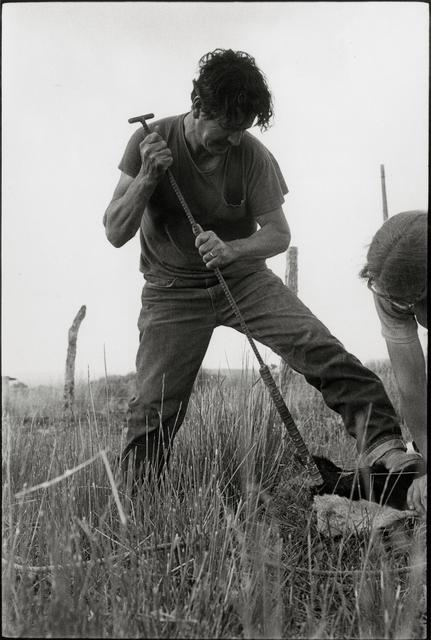 , 'Biddie Costillo, De Horning a Calf, Llanito, New Mexico,' 1975, Etherton Gallery