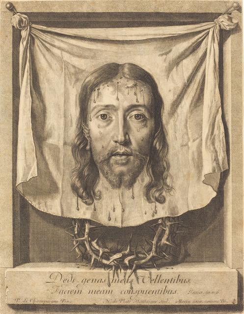Nicolas de Plattemontagne after Philippe de Champaigne, 'The Veil of Saint Veronica', National Gallery of Art, Washington, D.C.
