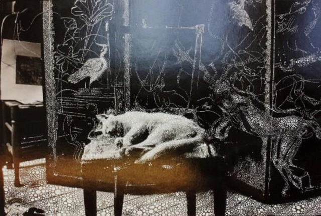 , 'Little Cat in the Studio,' 2011, Fort Worth Contemporary Arts