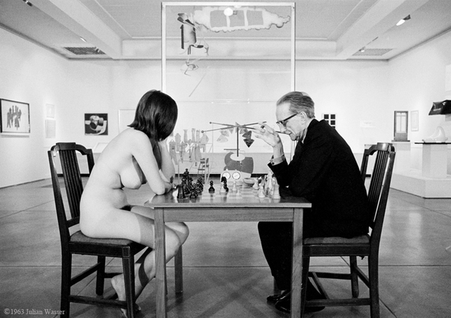 , 'Marcel Duchamp Playing Chess with Eve Babitz, 1964,' 1964, Hilton Asmus