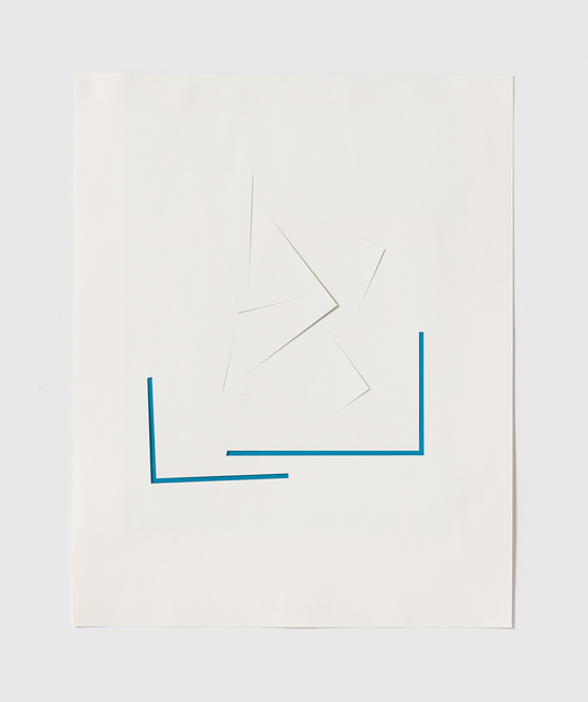 , 'Untitled Cut, S#2,' 1977, Bookstein Projects