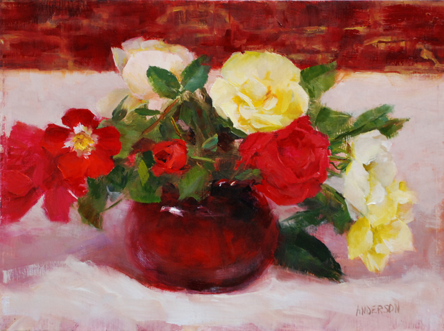 , 'Ruby and Roses,' 2019, The Galleries at Salmagundi