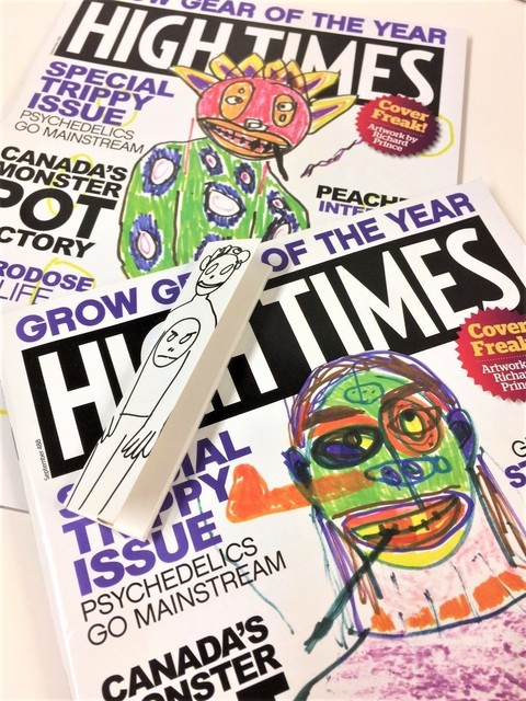 "Richard Prince, 'THREE PIECE SET- (2) Richard Prince 2016 High Times Magazines, (1) Rolling Papers, ""High Times Covers"", Curated by Richard Prince, BLUM & POE LA,', 2016, VINCE fine arts/ephemera"