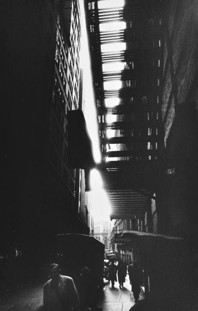 , 'Fire Escape, New York,' 1955-1956, HackelBury Fine Art