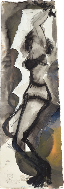 Marlene Dumas, 'Strobe Lights + Flash Lights', 2000, Phillips