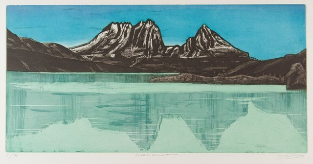 Jeffrey Makin, 'Cradle Mountain', 2004, Print, Etching, Angela Tandori Fine Art