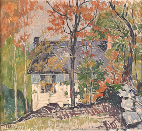 Untitled (House in Landscape)