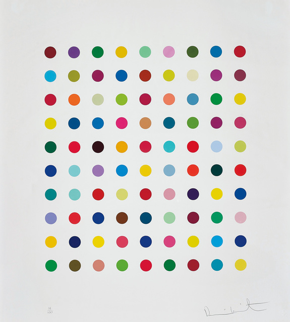 Damien Hirst, 'Lanatoside B', 2011, Phillips