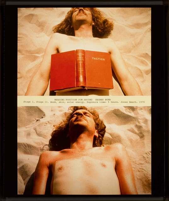 , 'Reading Position for Second Degree Burn,' 1970, Richard Saltoun