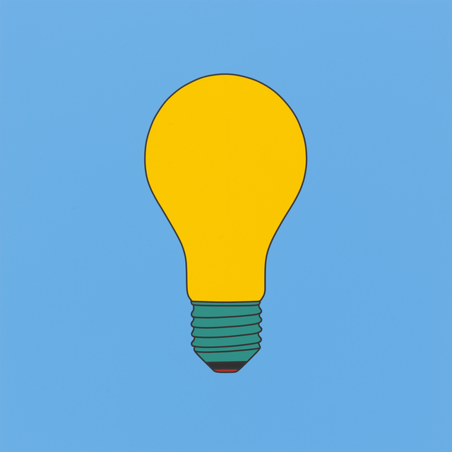 , 'Untitled(lightbulb yellow),' 2016, Gallery Hyundai