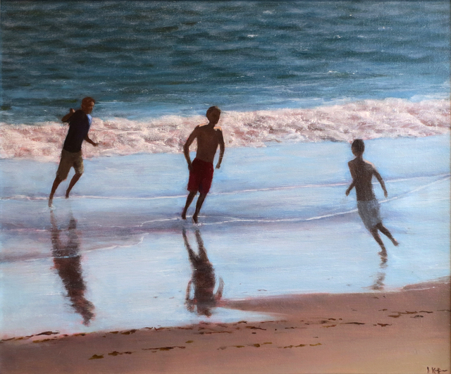, 'Playing in the Surf,' 2018, Gallery Neptune & Brown