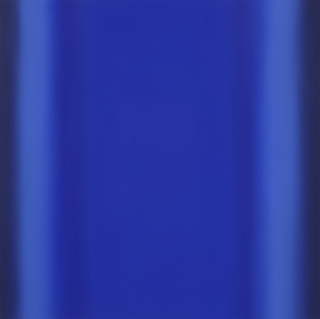 , 'Blue Orange 3-S4848 (Blue Deep), Sense Certainty Series,' 2014, Brian Gross Fine Art