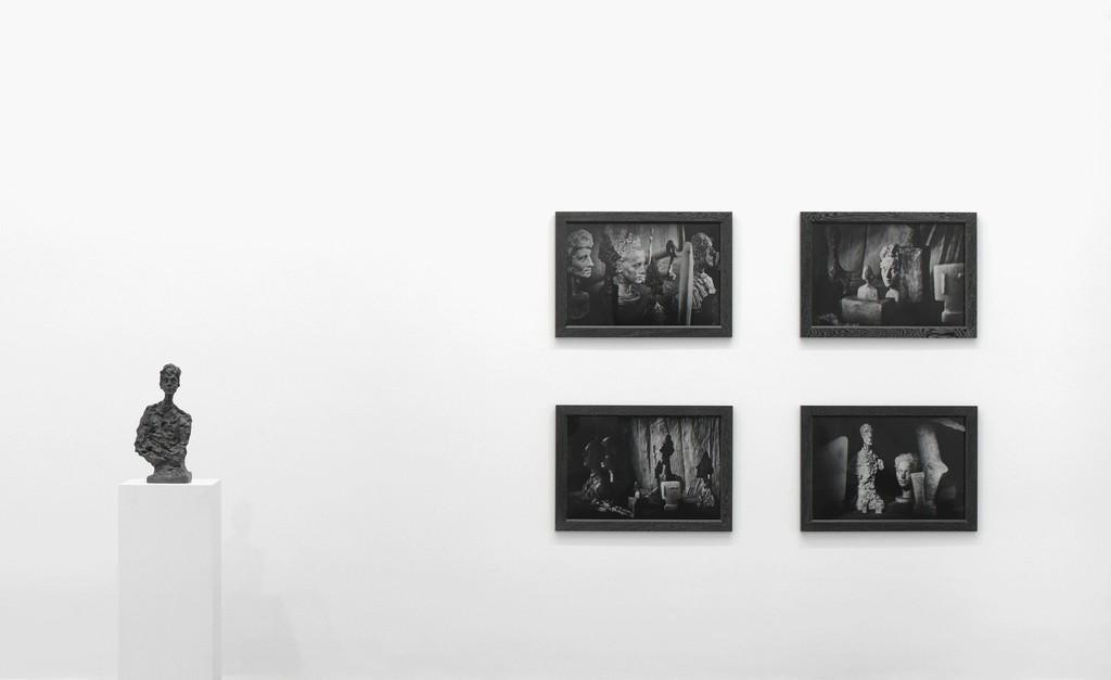 All artworks © Peter Lindbergh. © Succession Alberto Giacometti (Fondation Giacometti + ADAGP) Paris 2017. Courtesy Gagosian. Installation photography: Mike Bruce.