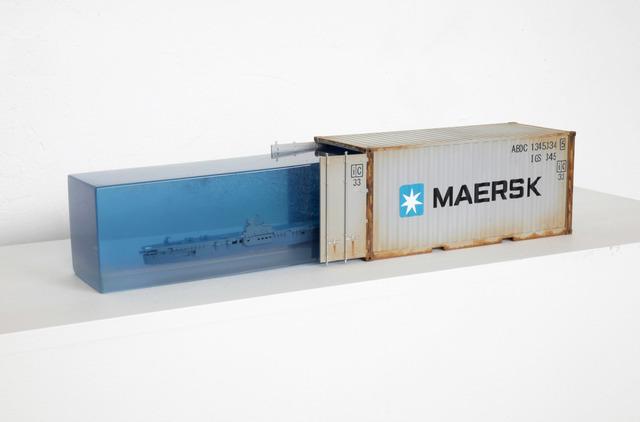 , 'Sobrecupo Maersk,' 2018, LGM Arte Internacional