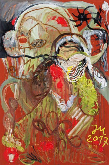 """, 'DIE 2 SPIELKINDER IM ANGSTLOSEN RAUM  K.U.N.S.T.!"""",' 2017, Tim Van Laere Gallery"""