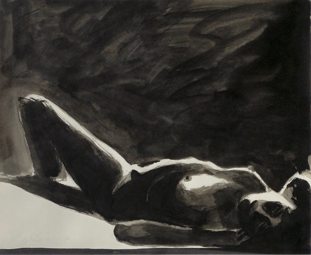 , 'Reclining Nude,' 1966, William Shearburn Gallery