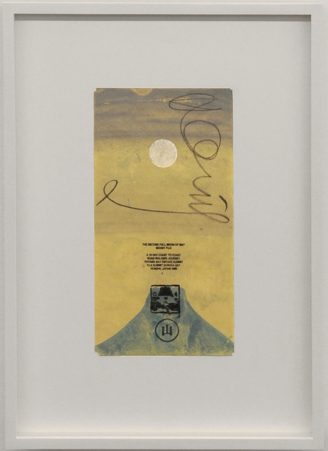 , 'The second full moon of May, Mount Fuji,' 1988, Van der Mieden Gallery