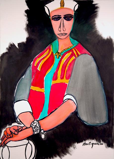 Grace Hartigan, 'Tunisian Woman', 2000, C. Grimaldis Gallery