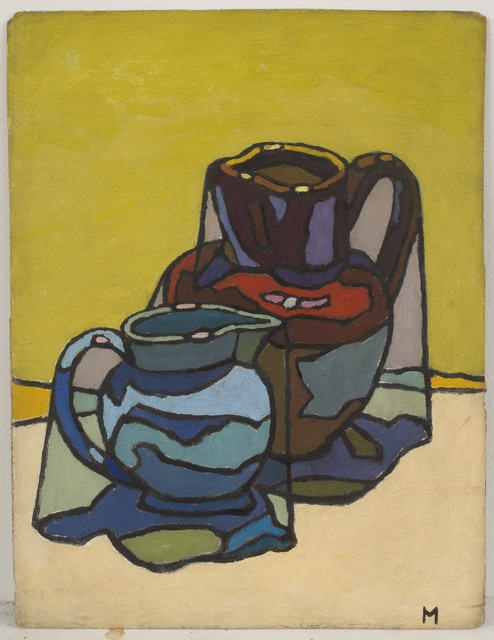 , 'Two Jugs,' 1956, Piano Nobile