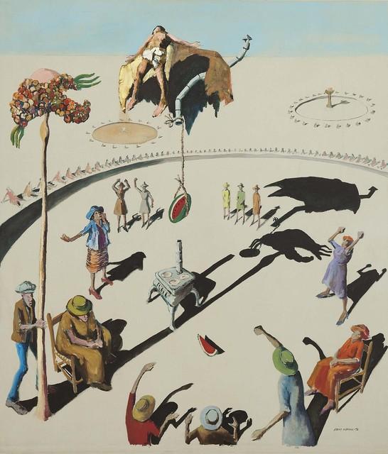 , 'Circle Study #11,' 1972, Michael Rosenfeld Gallery
