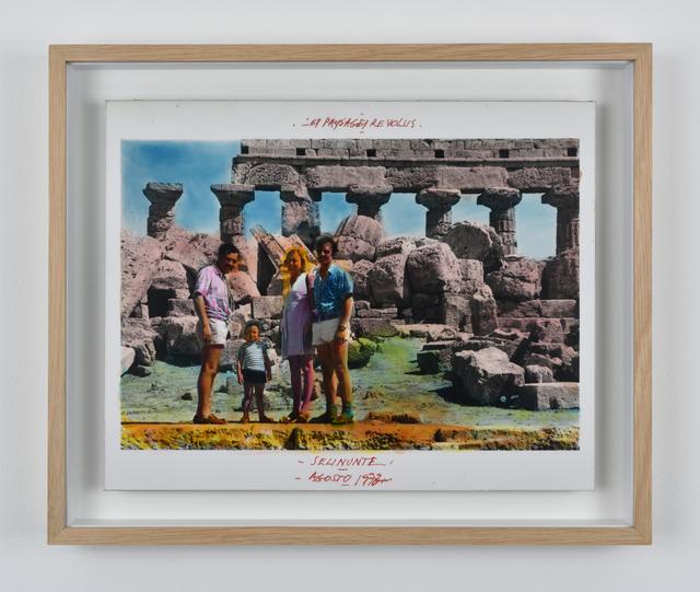 , 'Série Les Paysages Révolus, Selinunte, Agosto 1973 ,' 1973, Galerie Mitterrand