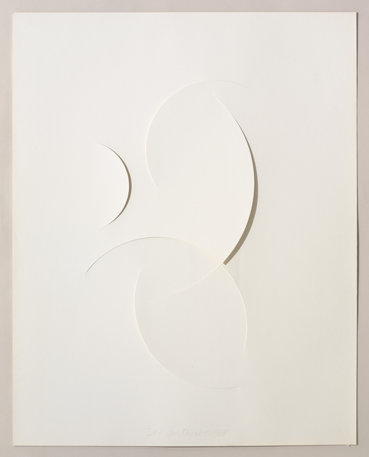 , 'Untitled Cut, D#7,' 1978, Bookstein Projects