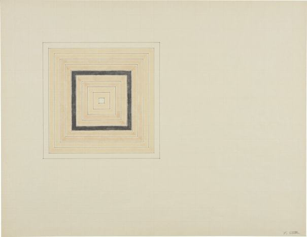 , 'Untitled (Concentric Square),' ca. 1960, Simoens Gallery