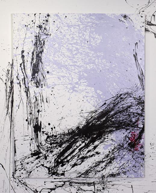 , 'Self Portrait in Lavender no.2,' 2013, Garis & Hahn