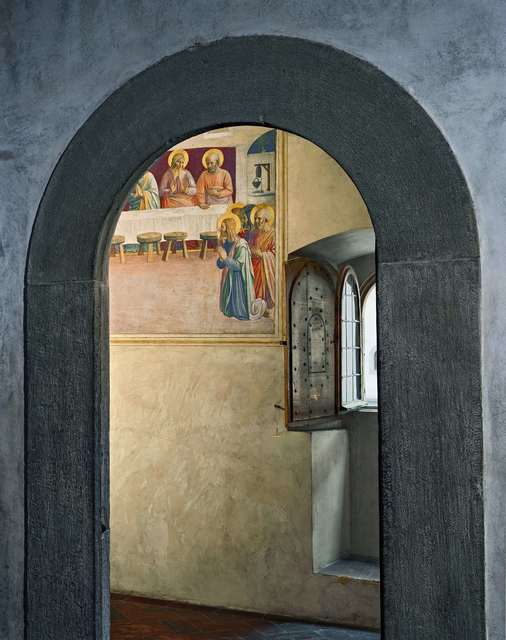 , 'The Last Supper, or Communion of the Apostles by Fra Angelico, Cell 35, Museum of San Marco Convent,' 2010, CAMERA WORK