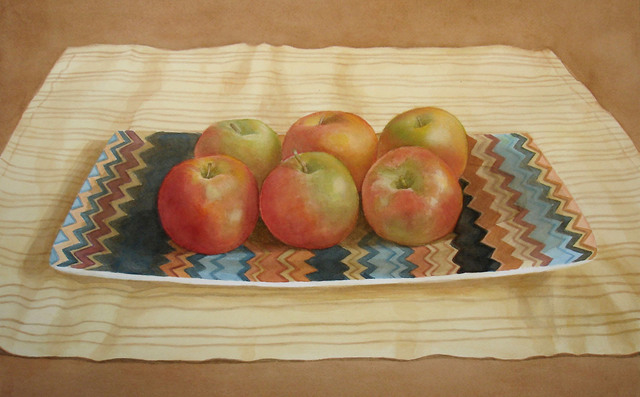 , 'Apple Sextet,' 2015, InLiquid