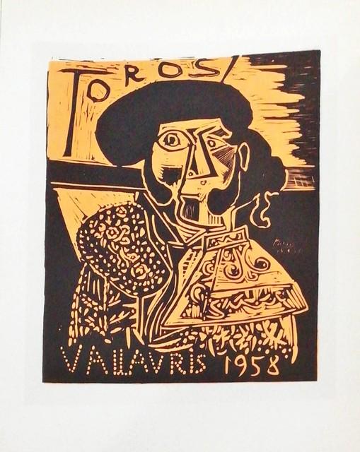 Pablo Picasso, 'Toros 1958 - Figure', 1959, Hidden