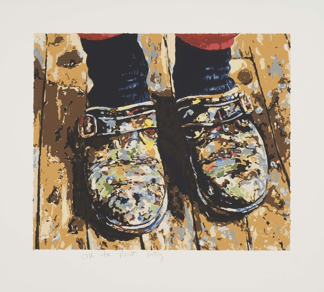 Joe Fig, 'Inka's Shoes,' 2007, Lower East Side Printshop