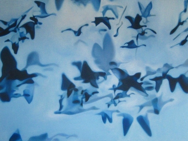, 'Blue Birds,' 2013, Salomon Contemporary