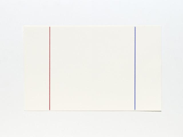 , 'Phi (Red, Blue),' 2016, Slewe Gallery