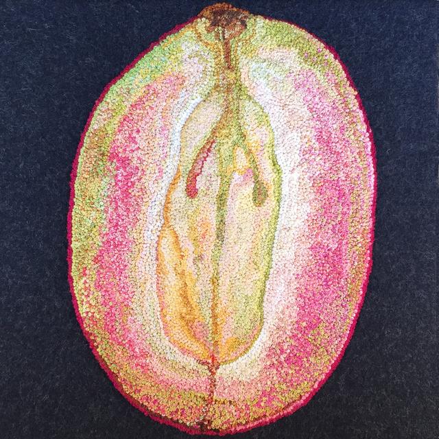 , 'Sliced Grape,' 2015, InLiquid